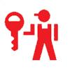 Logo Serrurier .Com , Marque déposée.